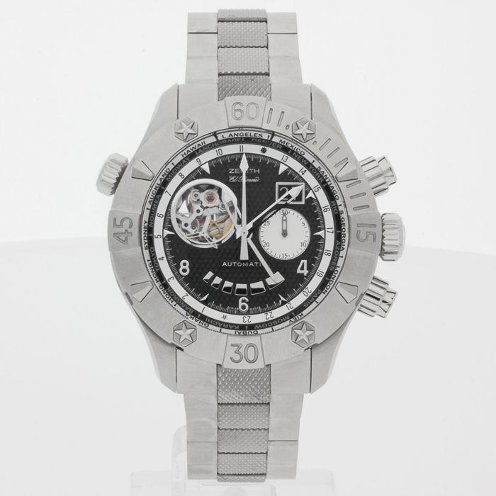 Zenith Defy Classic Grande Date Multicity GMT Chronograph 03.0526.4037/21.M526