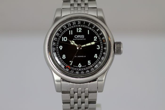 Oris Big Crown Pointer Date Black
