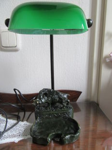 Special design notary lamp with wild boar