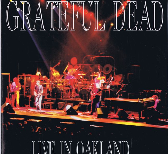 "Grateful Dead- 2LP-set: ""Live In Oakland 1988 (""Swingin' Pig TSP 137-2) made in Luxembourg 1992"