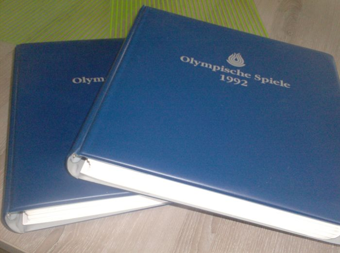 Theme – 1992 Olympic Games – Collection in two special albums