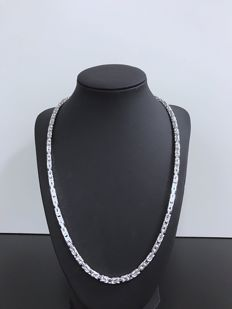 Silver (925k) King's necklace 55 cm - 52Gr