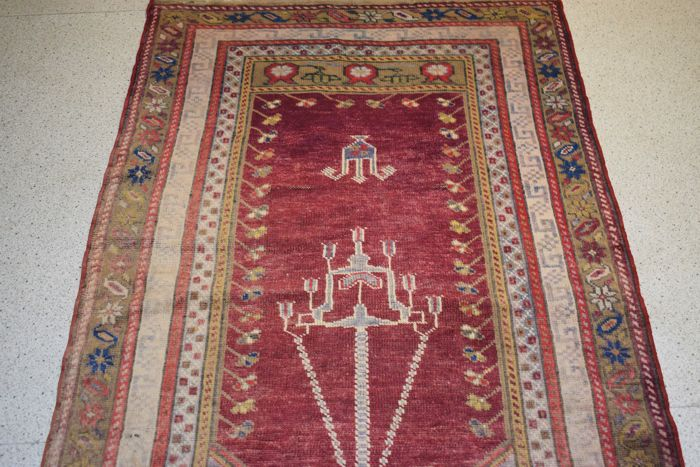 Antique oriental carpet – Turkey, 170 x 88 cm – beginning of the previous century. With certificate of authenticity