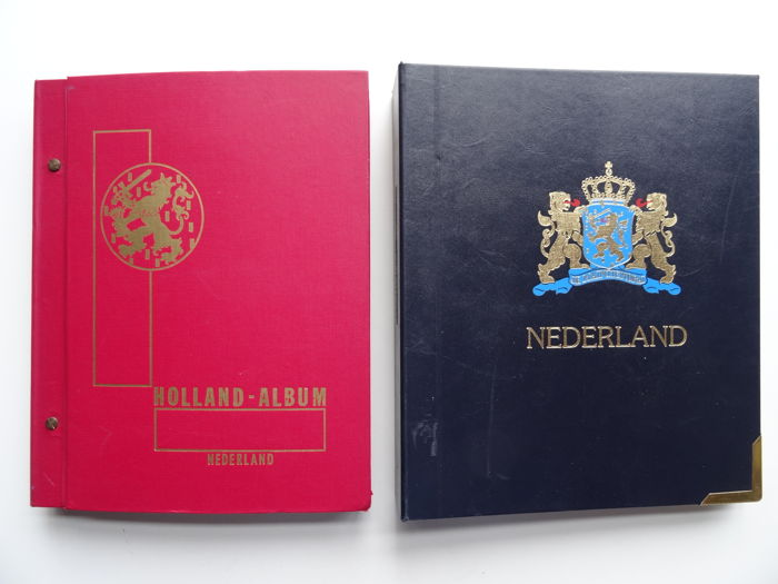 the Netherlands 1864/2001 - Collection of Importa preprint album