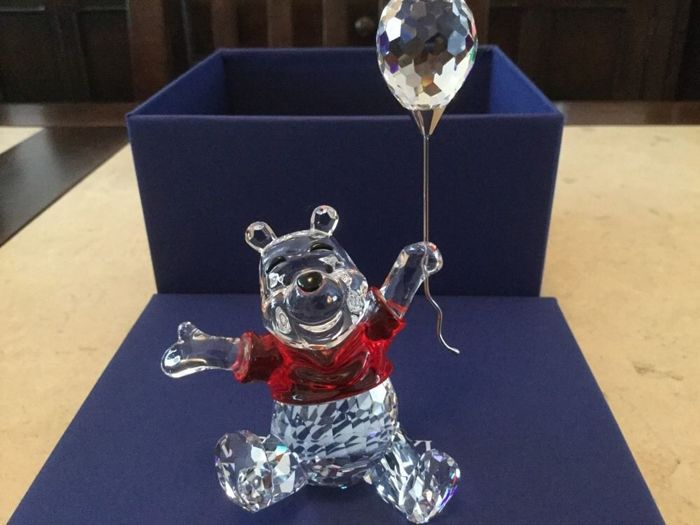 Swarovski - Winnie the Pooh - jar of honey (plate Disney)