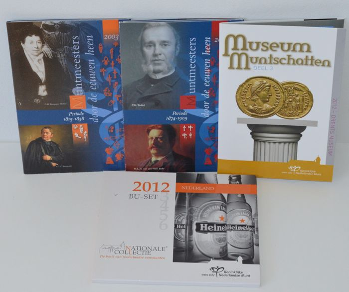 The Netherlands - Year packs 2003/2005/2012 (4 different)