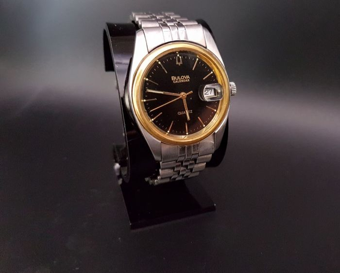 Bulova Rare Collectible Calendar - Men's Timepiece ** No Reserve **