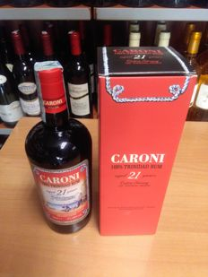 1 bottle of Caroni 21 years - 70cl - alcohol content 57,18% vol