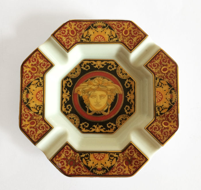 Versace - 'Medusa' Rosenthal porcelain ashtray - 1995