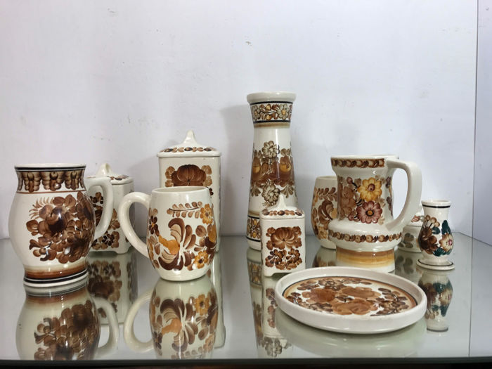Very large set of pottery KOŁO