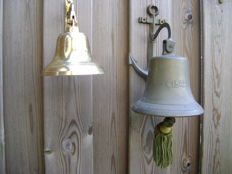 2 Copper Ship's Bells (1842)