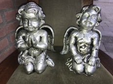 Two angels (Putti's) images