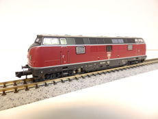 Fleischmann N - From set 931781 - Diesel locomotive Series BR 221 of the DB