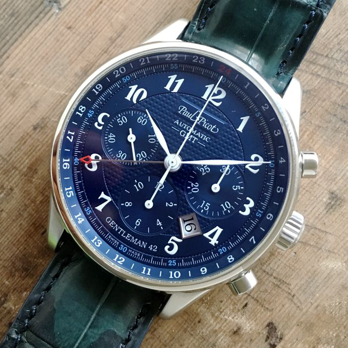 Paul Picot  Automatic GMT  Chronograph Limited Edition  -- Men´s Watch