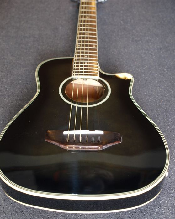 Motion Traveller guitar, electro-acoustic with 3-band EQ505 equaliser