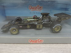 Quartzo - 1/18 Scale - Lotus 72D JPS #8 Winner British G.P. 1972 - Emerson Fittipaldi