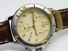 rare camel trophy quartz w. watch chronograph new old stock