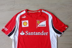 Genuine 2011 Ferrari Racing Team Puma race tee