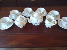 Carl Teichert, Meissen - Tea set for six people