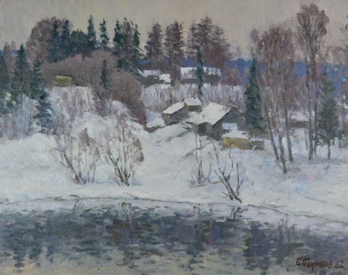 B Pirikov. (20th century) - Little Winter