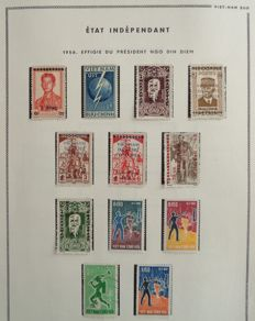 Former French Colonies 1956-1974 - Collection from South Vietnam.