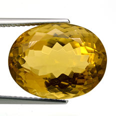 Citrine - 15.32 ct.  - No Reserve Price