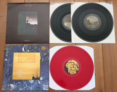Pink Floyd- Lot of 2 limited edition lp's: Pompeii 2lp (stunning live set, already out of print release!) & Broadcasting From Europa 1 (300 copies only, red marbled wax)