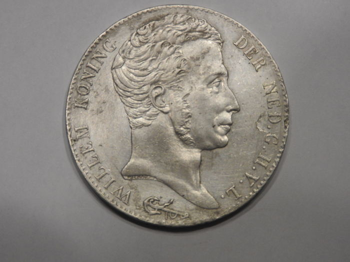 The Netherlands – 3 guilder coin  1821 Utrecht, Willem I - silver