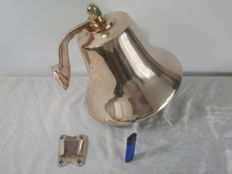 Perko - Large original polished ship's bell - 12 kilos
