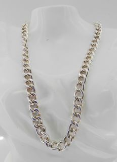 Solid 925/000 silver chain – 50 cm – 95.7 g