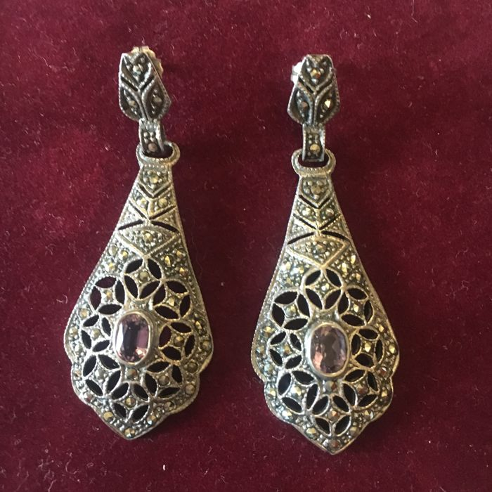 silver earrings antique ivory statement in scott jewelry lg categories katrina kendra