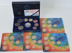 Spain - Year collection 1999-2002 (5 different)