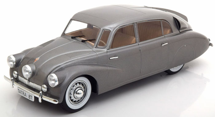 MCG Models - Scale 1/18 - Tatra 87 1941 - Colour Grey