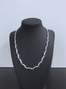 Silver Necklace Fossil (925) - 47 cm