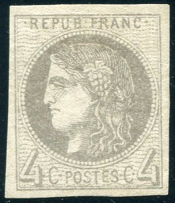 France 1870 – Ceres (Bordeaux) – Yvert no. 41B