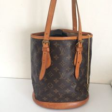 Louis Vuitton – Bucket shoulder bag/Handbag with dust bag