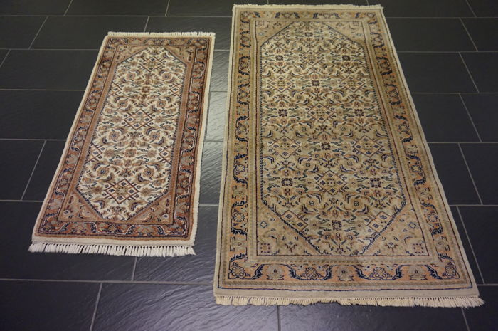 *Two beautiful Oriental carpets* *Indo Bidjar 90 x 165cm* *Indo Sarouk 62 x 120cm*