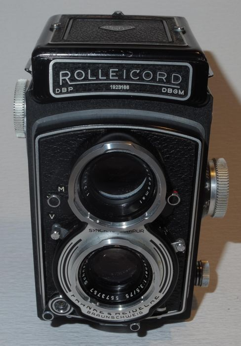 Rolleicord Va -  6x6 TLR - 1958
