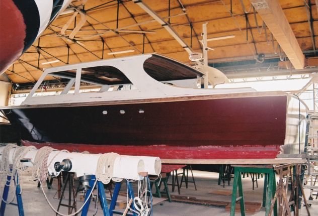 Lobster boat CHRIS CRAFT 28 Sea Skiff