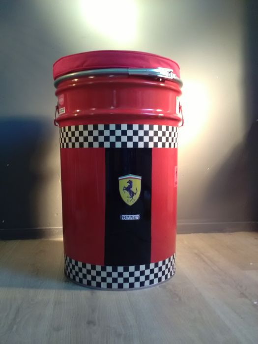 Ferrari Scuderia - Barrel seat or chair - Metal