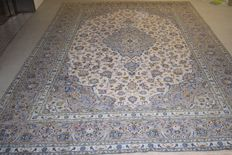 Persian carpet, Kashan - 20th century, around 1980, size - 350 x 250 cm - with certificate of authenticity
