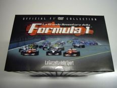 "Lot of 15 Dvd in Box ""La grande avventura della Formula 1"""