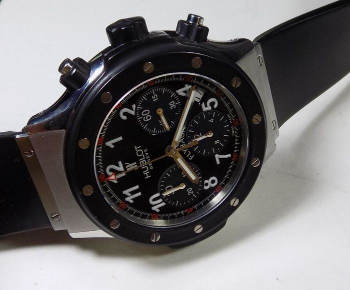 Hublot Super B - Black Magic - Flyback Chrono - 2010's - Men's Chronograph