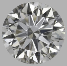 1.50ct Round Brilliant Diamond G VS2  IGI  3EX -Original image- SEALED - Serial# 2063