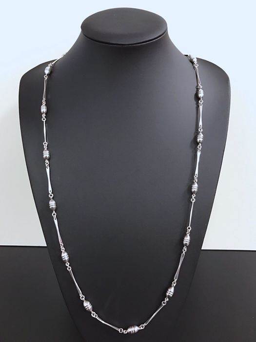Silver Necklace (925 kt) – 93 cm