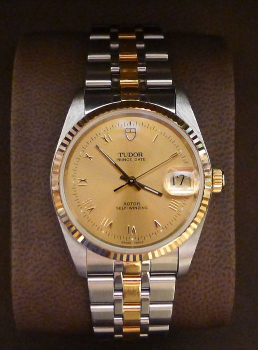 TUDOR PRINCE DATE - Men's watch - ref: 74033 - year 2004