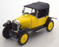 MCG Models - Scale 1/18 - Citroen 5 CV 1922 - Colour Yellow / Black