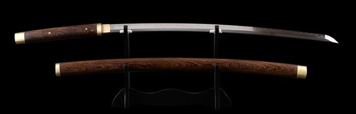 Katana Samurai sword -- sharp blade made of T10 steel - Japan - 21st century
