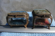 Two jewellery boxes - Napoleon III - France - half XIXth
