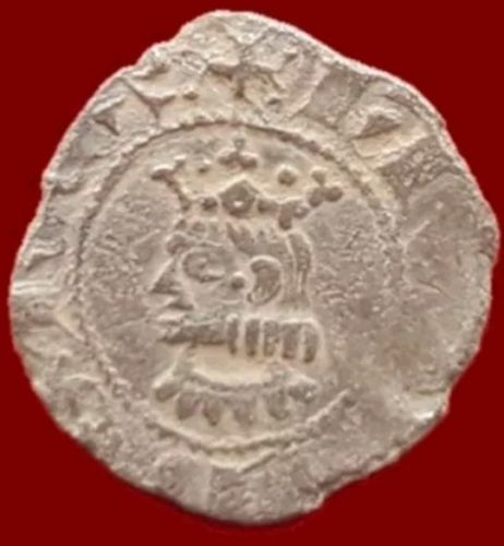 Spain – Jaime, billon coin, Barcelona – 18 mm / 0.5 g